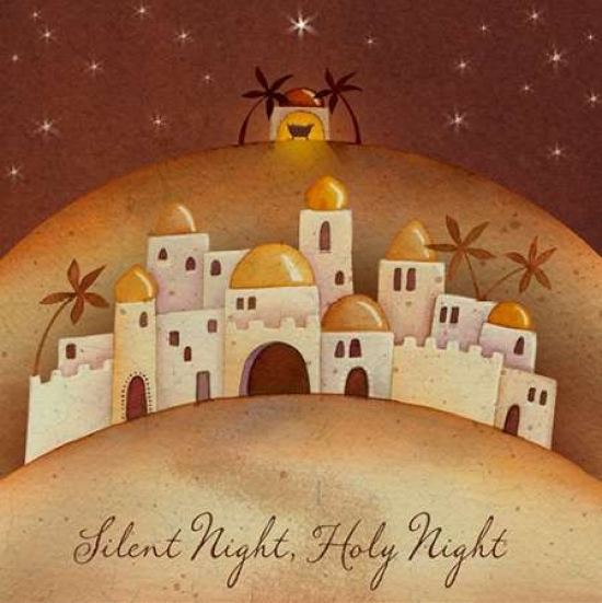 Silent Night Poster Print by PS Art Studios