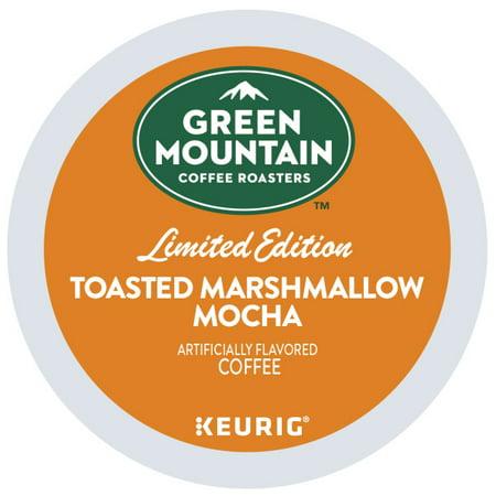 Mountain Spice (Green Mountain Coffee, Toasted Marshmallow Mocha, Keurig K-Cup Coffee Pods, Light Roast, 18)