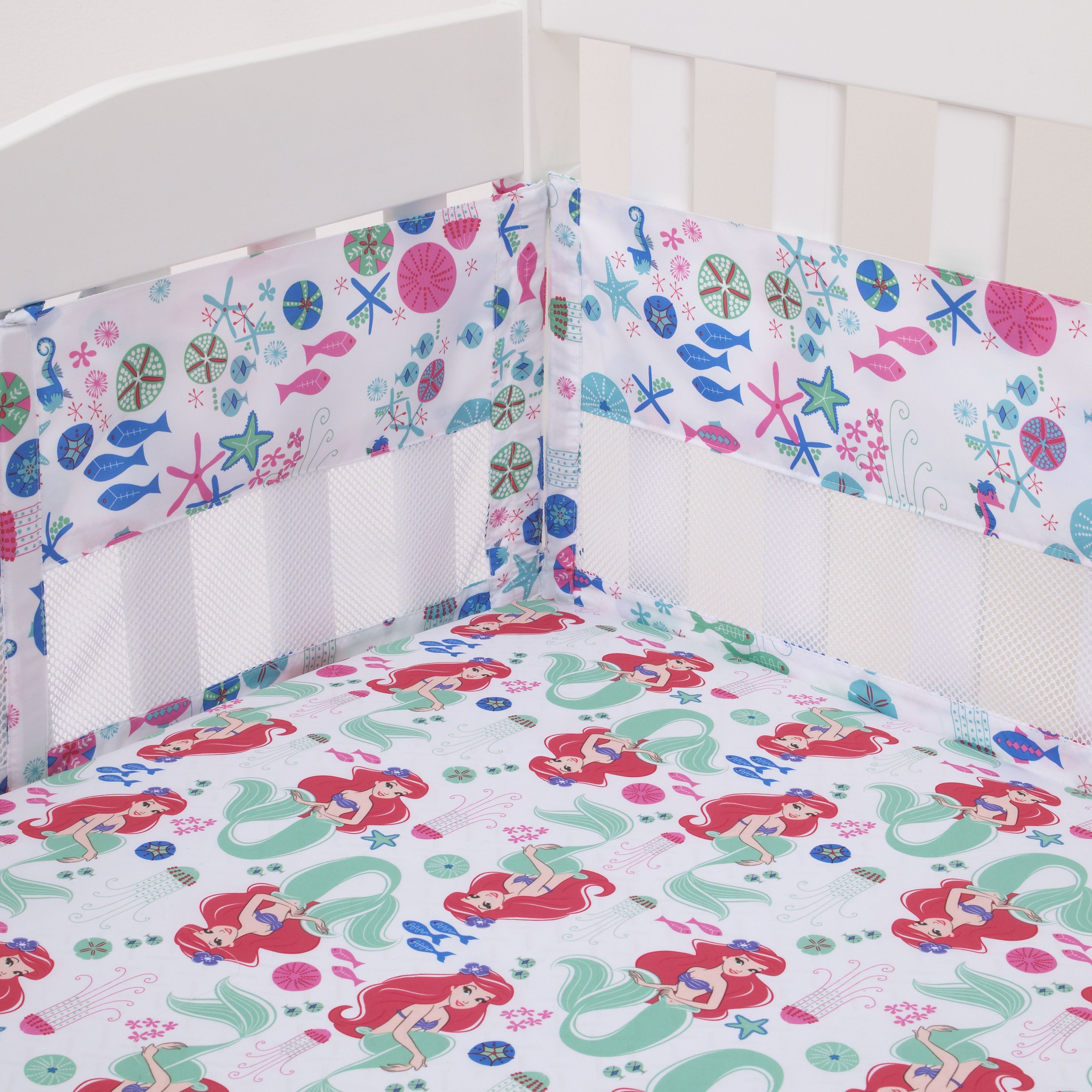 Disney Ariel Ocean Beauty Crib Liner