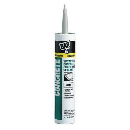 Dap 18096 10.1 oz Concrete Waterproof Filler & (Best Waterproofing For Concrete Slab)
