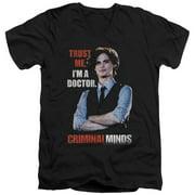 Criminal Minds Trust Me Mens V-Neck Shirt