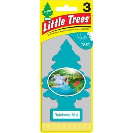 Rainforest Air Freshener (LITTLE TREES air freshener Rainforest Mist)