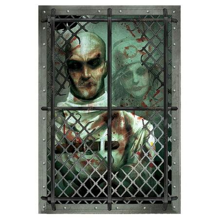 Asylum Straitjacket Inmate Wall - Straitjacket Asylum