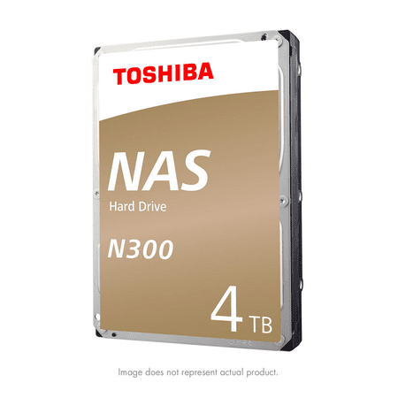 Internal Ultra Ata Hard Drive (Toshiba N300 4TB NAS Internal Hard Drive 7200 RPM SATA 6Gb/s 128 MB Cache 3.5inch - HDWQ140XZSTA)