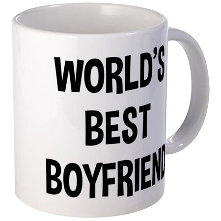 CafePress - World's Best Boyfriend - Unique Coffee Mug, Coffee Cup