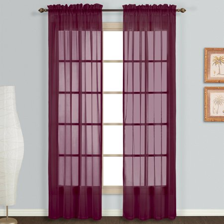 (United Curtain Monte Carlo Curtain Panel Set)