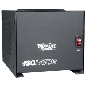 Tripp Lite - IS1000 - Tripp Lite Isolation Transformer 1000W Surge 120V 4 Outlet 6