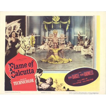 Flame of Calcutta - movie POSTER (Style A) (11