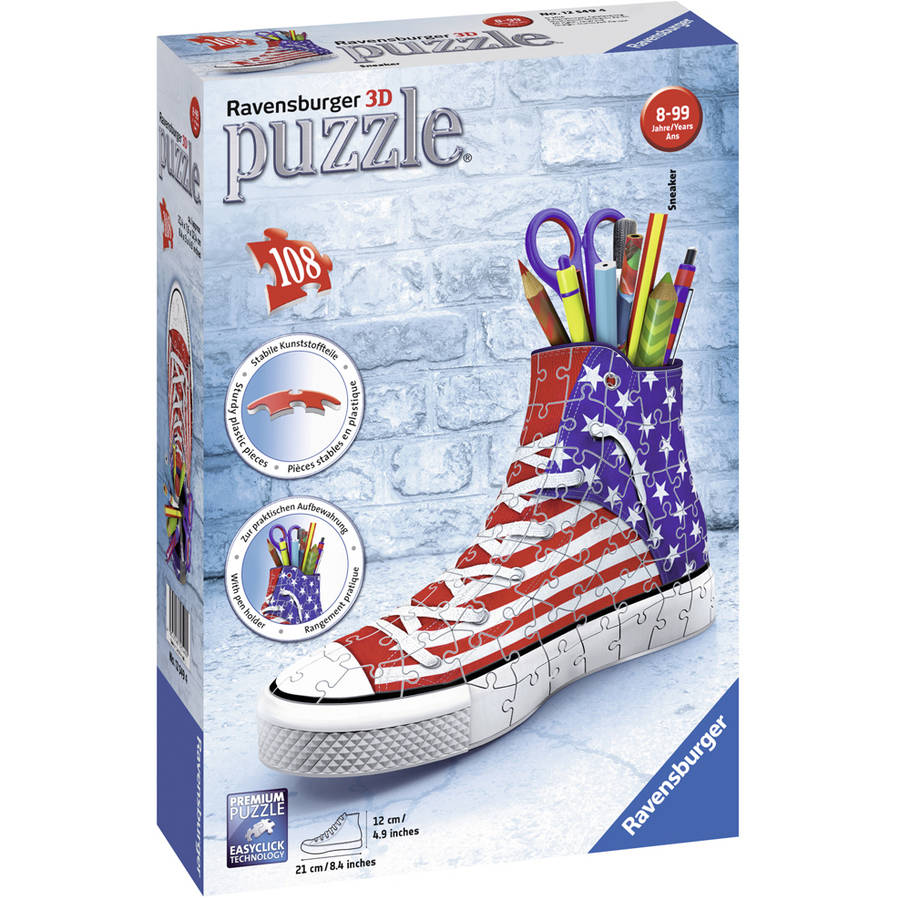 Ravensburger Sneaker American Style 3D Puzzle: 108 Pcs by Ravensburger