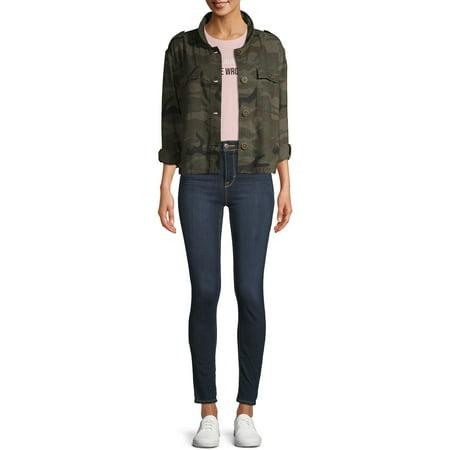 Time and Tru Women's Linen Jacket