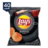 Lay's Potato Chips, Barbecue, 1 oz Bags, 40 Count