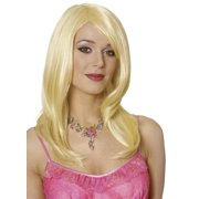 Womens Sharon Blonde Costume Accessory Wig