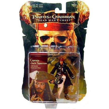 Pirates of the Caribbean Dead Man's Chest Captain Jack Sparrow Action