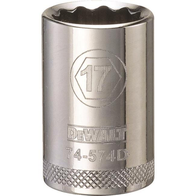 Stanley Tools 227956 17mm 12 Point Socket - 0.5 in. Drive - image 1 of 1