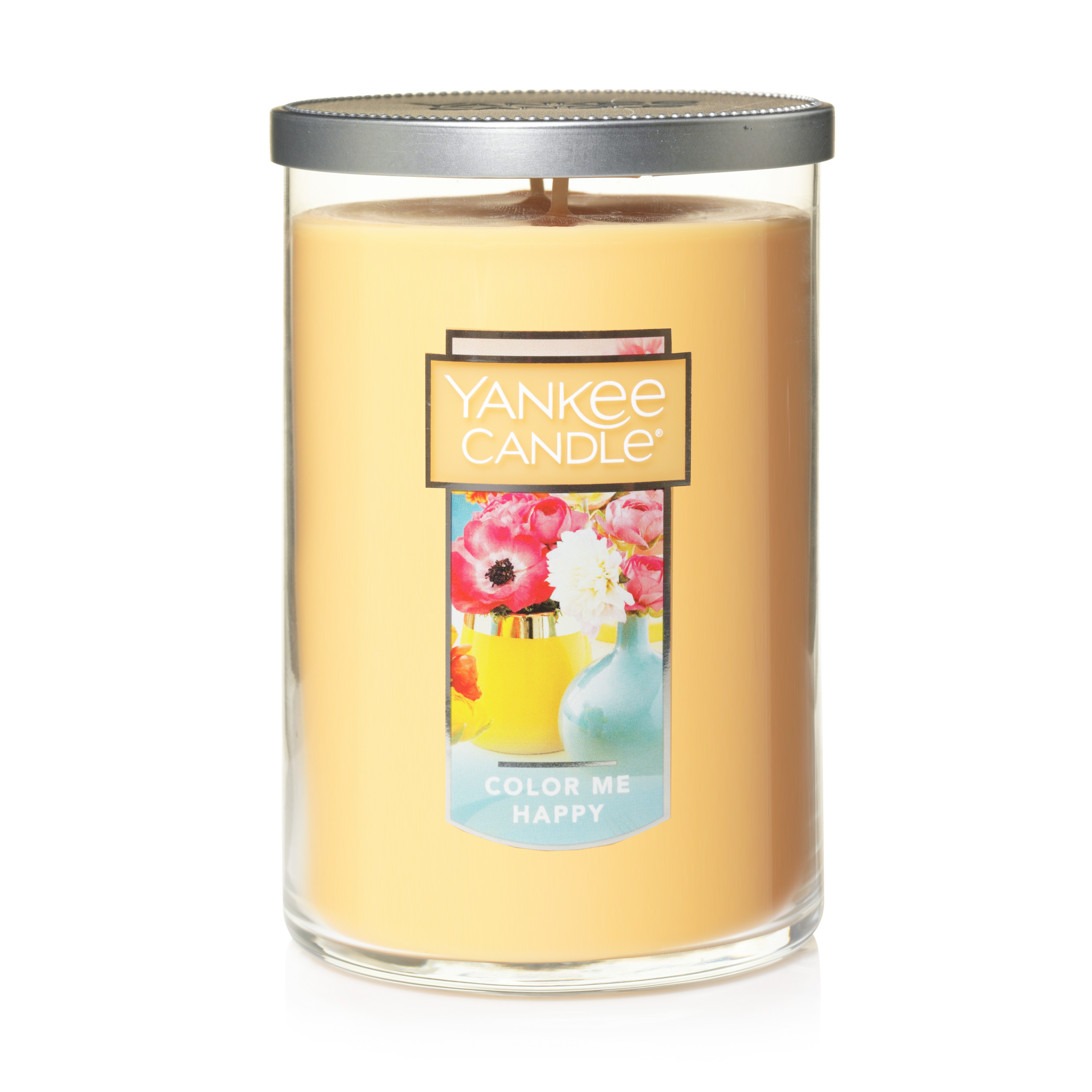Yankee Candle Large 2-Wick Tumbler Scented Candle, Color Me Happy
