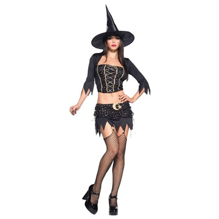 Women's Starry Witch Costume