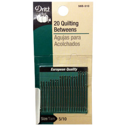 Dritz Quilting Betweens Assorted Hand-Sewing Needles