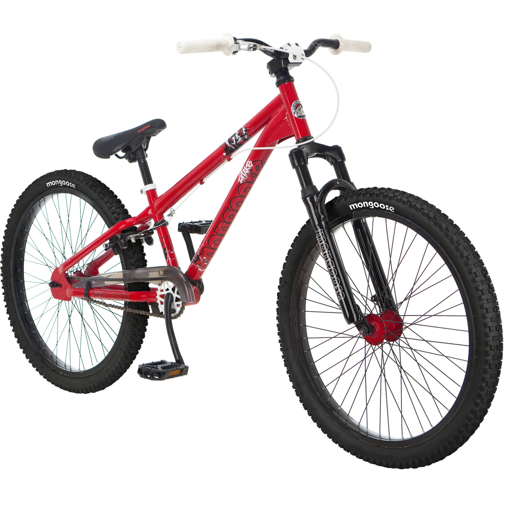 "24"" Mongoose Intake Boys' Dirt Jump Bike"