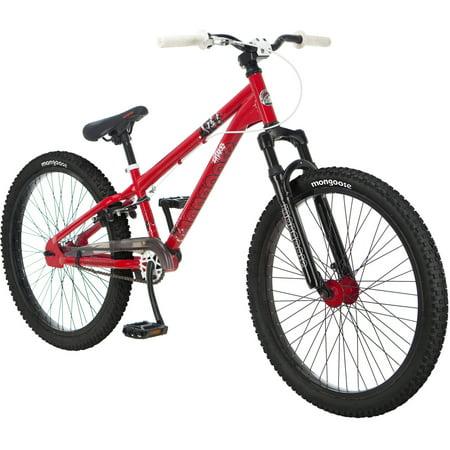 24 mongoose intake boys dirt jump bike