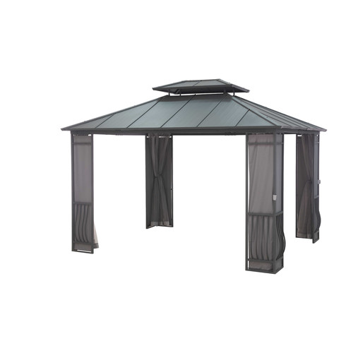 Sunjoy Orleans 10 Ft. W x 12 Ft. D Steel Permanent Gazebo by Sunjoy