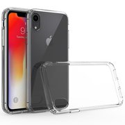 "Apple iPhone XR (6.1 Inch) Phone Case Clear Shockproof Hybrid Bumper Rubber Silicone Gel Cover Highly Transparent Clear Phone Case for Apple iPhone Xr (6.1"")"