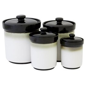 Black Canisters