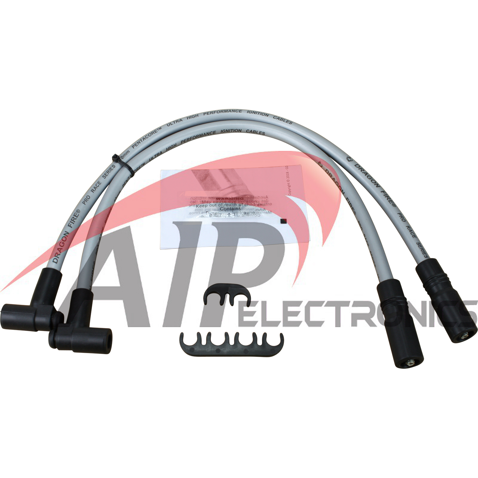 Brand New DragonFire 10.2mm Spark Plug Wires For 1993-1997 Toyota Geo Celica Corolla Prizm OEM Fit PWJ140