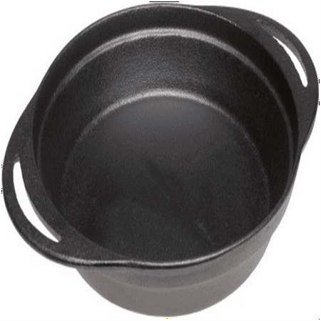 Pie Pan - Pre-Seasoned Cast Iron 12 x 9.5 x 2 Inches By Old - Old Mountain Cast Iron Pig