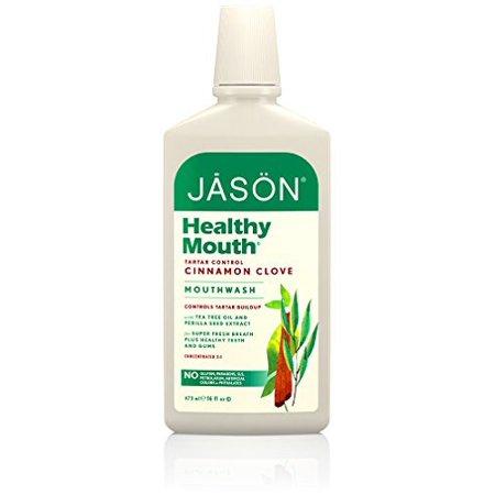 473ml Organic Tea Tree Cinnamon Aloe Vera Mouthwash by, Jasons Natural 473ml Organic Tea Tree Cinnamon Aloe Vera Mouthwash By JASONS - Aloe Tea