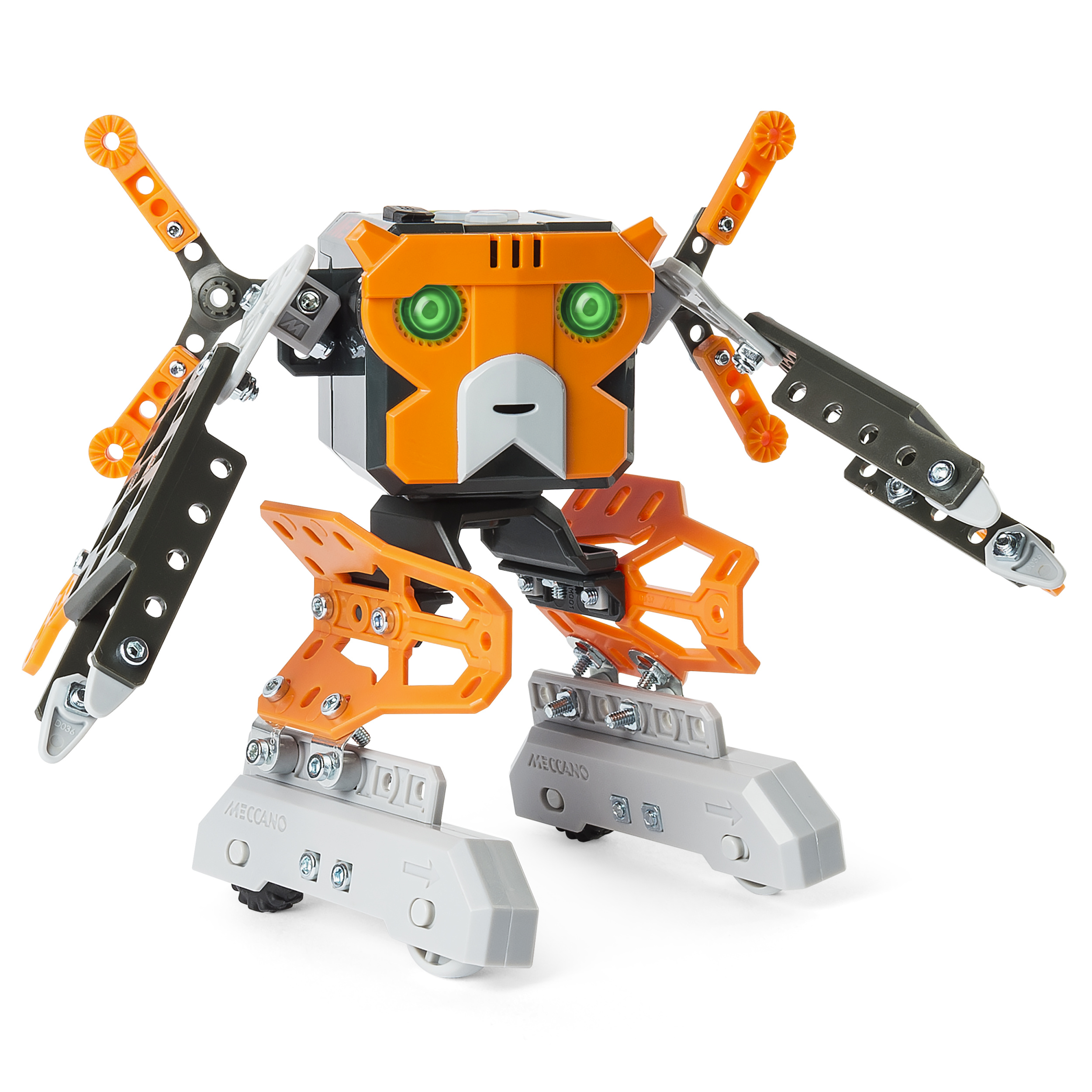 Meccano&Hyphenerector &Hyphen Micronoid Code Magna Programmable Robot Building Kit