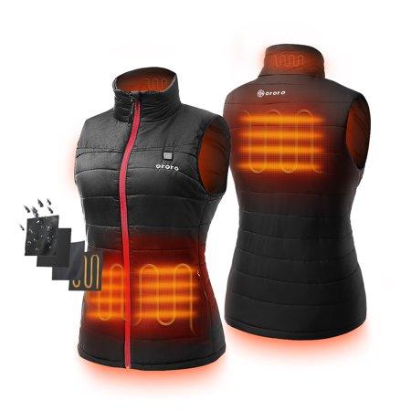 Women's Lightweight Heated Vest with Battery Pack (Best Women's Heated Jacket)