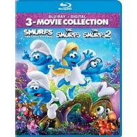 The Smurfs / The Smurfs 2 / Smurfs: Lost Village (Blu-ray)