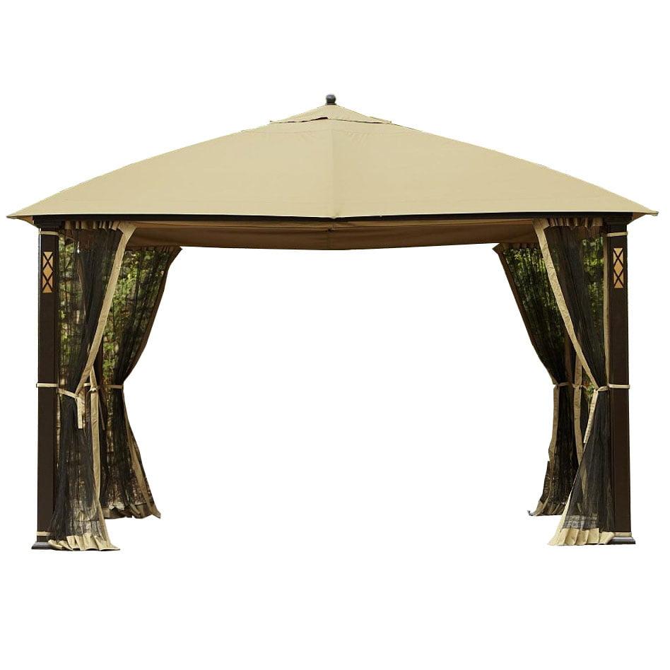 Garden Winds Cedar River Gazebo Replacement Canopy Top and ...