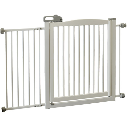 Richell R94134 One-Touch 150 Pet Gate Autumn Matte 35 in. - 61 in. x 2 in. x 34.6 in.