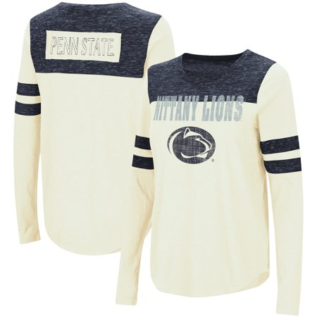 Penn State Nittany Lions Colosseum Women's My Way Striped Long Sleeve T-Shirt -