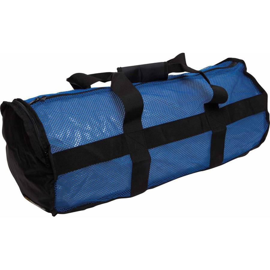 National Geographic Clamshell Deluxe Drawstring 2-Pocket Duffle