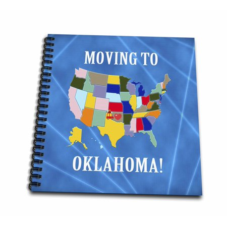Oklahoma On Map Of United States.3drose United States Map Moving To Oklahoma Heart And Car With