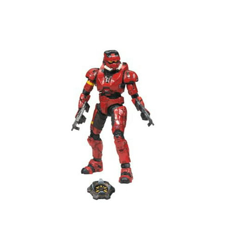 McFarlane Halo Series 4 Spartan Soldier EOD Action Figure [Red] (Halo Spartan Armor For Sale Cheap)