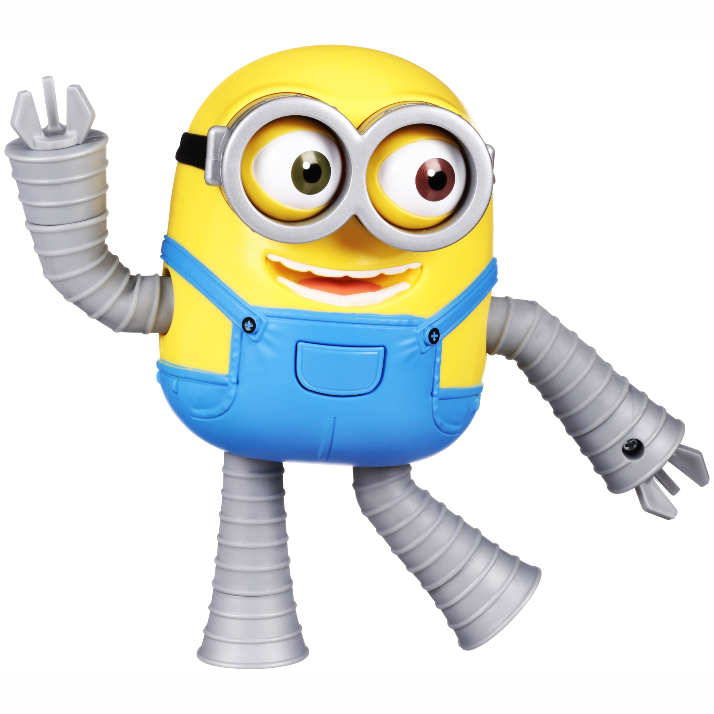 Despicable Me 3 Minion Made Robot Minion Bob Deluxe Action Figure by Thinkway Toys