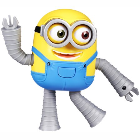 Despicable Me 3 Minion Made Robot Minion Bob Deluxe Action (Robot Diecast Figure)