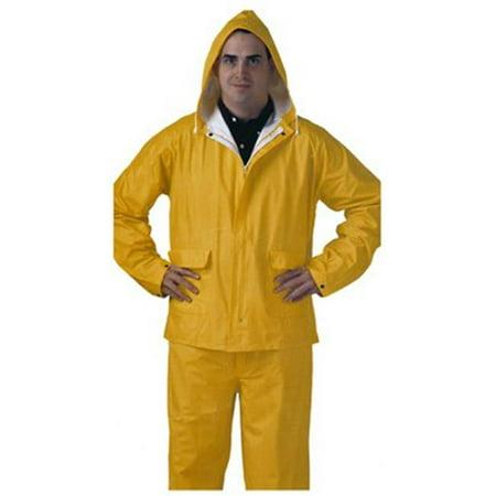 S62217.XL PVC Rainsuit, Extra Large, Yellow - image 1 de 1