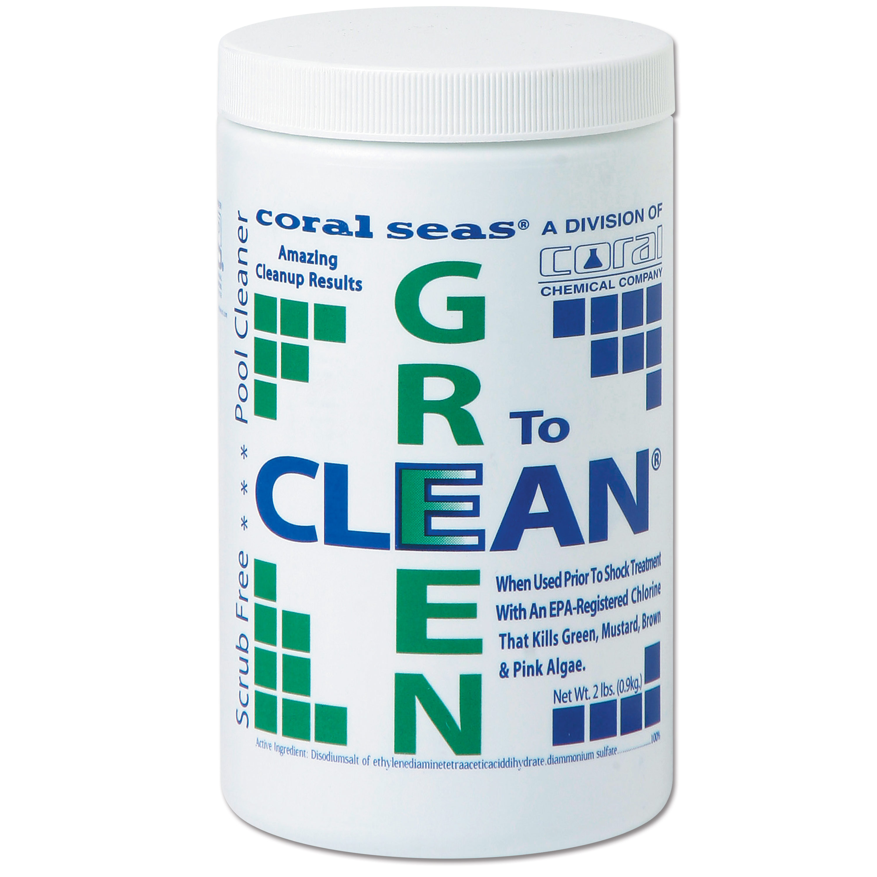 Green To Clean Pool Shock Enhancement Treatment - 2 Pounds