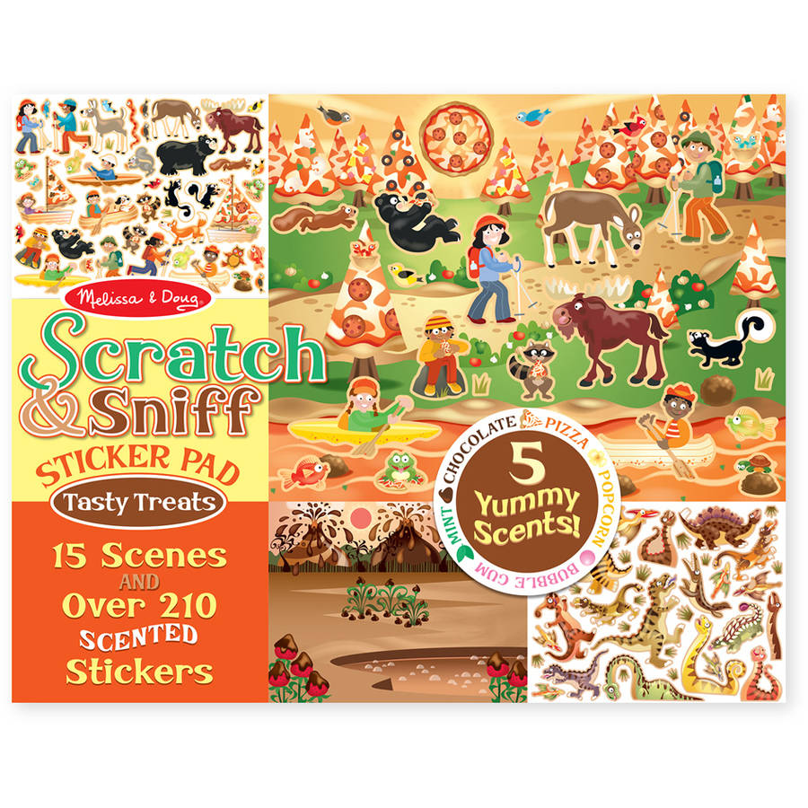 Melissa & Doug Scratch & Sniff, Tempting Treats
