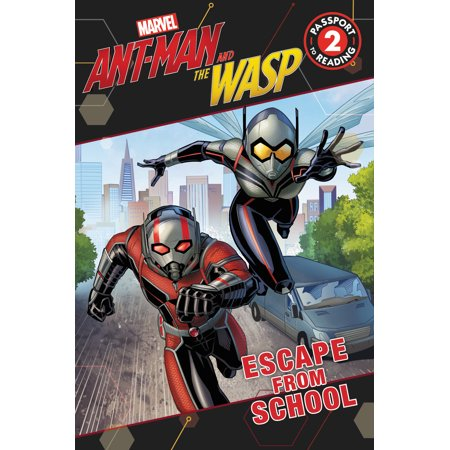 Marvel's Ant-Man and the Wasp: Escape from School (Paperback) - Superhero School