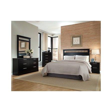furniture atlanta full queen panel customizable bedroom set 4 pieces