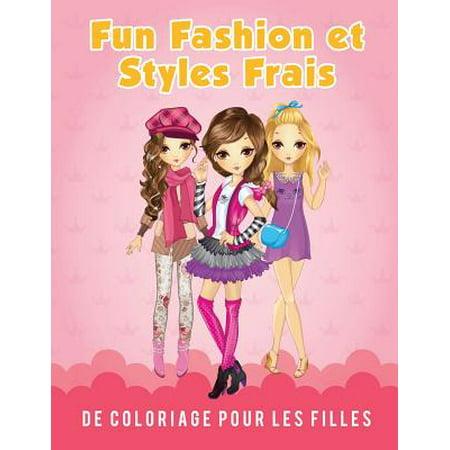 Fun Fashion Et Styles Frais de Coloriage Pour Les Filles](Coloriage Horreur Halloween)