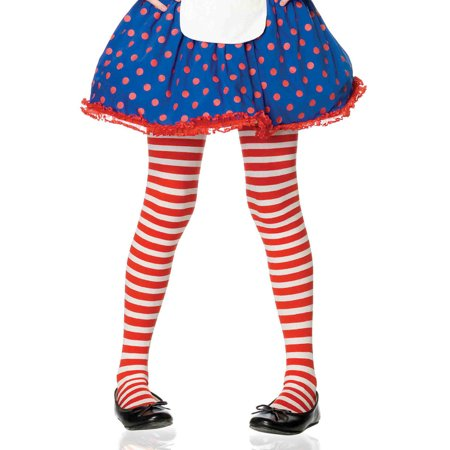 Childrens Elf Tights (Children's Striped Tights)