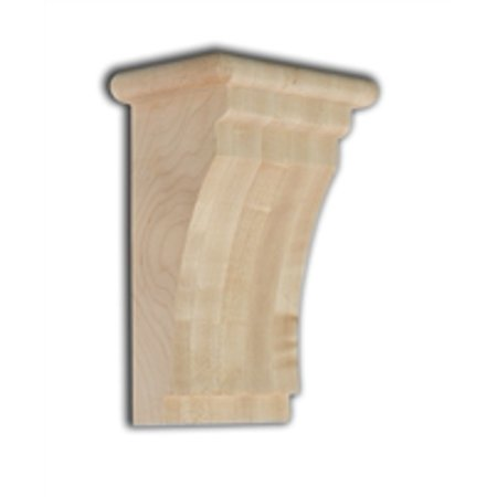 Oak Medium Corbels (Medium Shaker Corbel - Red)