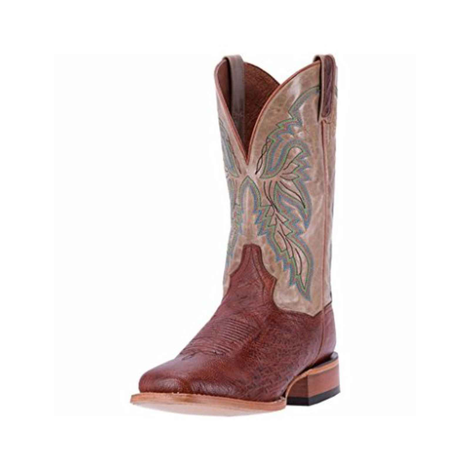 Dan Post Men's Bone Callahan Ostrich Skin Cowboy Boots,DPP5211 by DAN POST