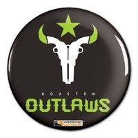 "Houston Outlaws WinCraft Team Logo 3"" Button Pin - No Size"